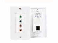 Startech Component Wall Plate Cat5 Video Extender