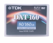 TDK 27822 - Data Cartridge Tape, 4mm DDS-6, DAT160, 160m, 80/160GB