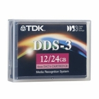 TDK 47520  DC4-125 -  4mm, DDS-3 Data Cartridge, 125m, 12/24GB