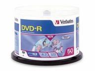 Verbatim Americas Llc 50pk Dvd-r 4.7gb 16x Branded Spindle