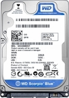 WD4000BEVT WesternDigital Scorpio Blue, Internal Hard Drive, 400GB