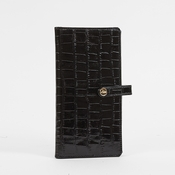 Abas Check Book Cover - Vintage Croc