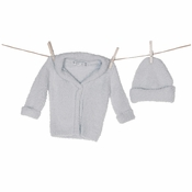 Barefoot Dreams CozyChic (Bamboo) Cardigan & Hat