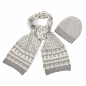 Barefoot Dreams CozyChic Hat and Scarf