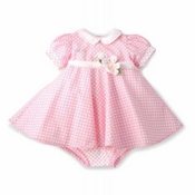 Bunnies By The Bay Blossom's Dress and Bloomers Set - Bloom