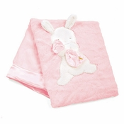 Bunnies By The Bay My Blankie Blanket - Blossom