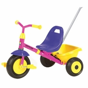 Kettler Kettrike Blossom with Push-bar and Canopy