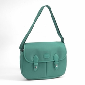 Longchamp Messenger Saddle Bag - Planetes - Turquoise