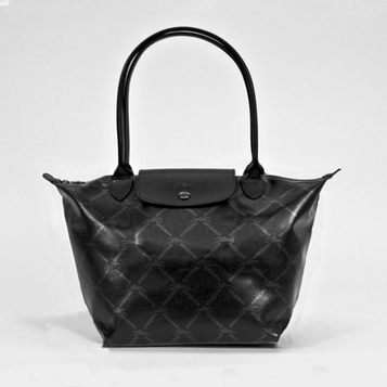 Longchamp Medium Shoulder Tote - LM Metal