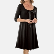 PJ Harlow Bella Three Quarter Swing Dress - CS