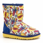 UGG Kid's Classic Short Comic Boot