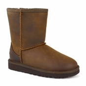 UGG Kid's Classic Short Leather Boot