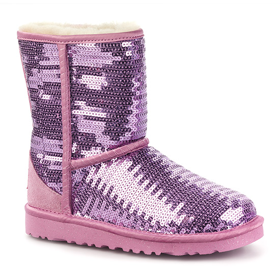 Ugg kid s classic short sparkles boot free shipping whatshebuys
