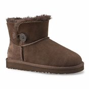 UGG Kid's Mini Bailey Button Boot - FS