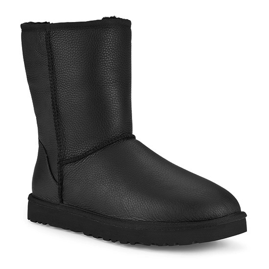UGG Mens Classic Short Leather Boot WhatSheBuys