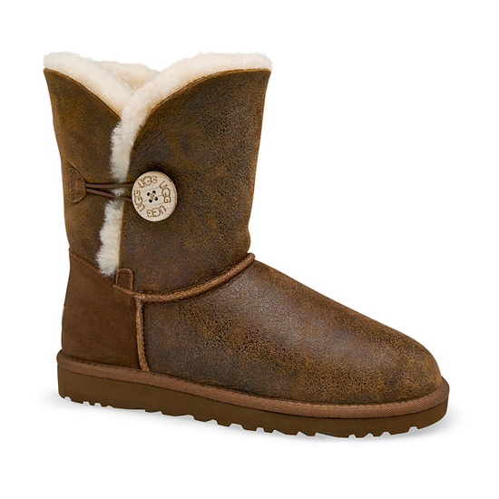 ugg bailey button boot bomber jacket chestnut