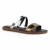 UGG Women's Francois Metallic Sandal-CS