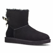 UGG Women's Mini Bailey Bow Stripe Boot