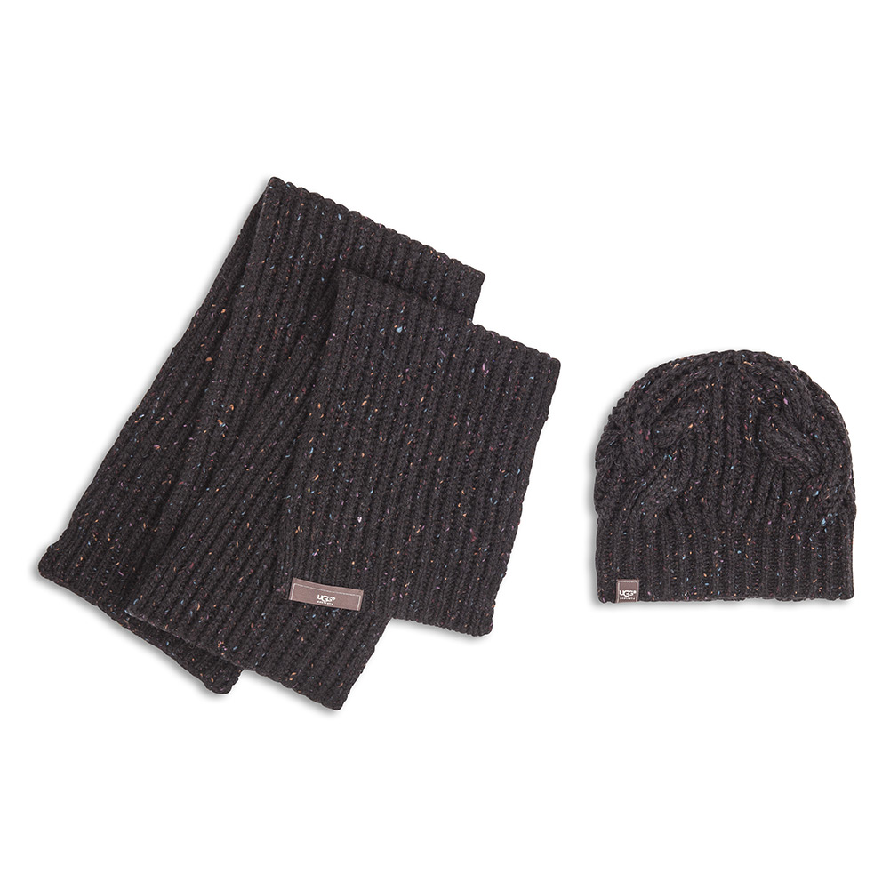 08f89f9107c7c1 Ugg Luxury Hat And Scarf Set