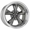 "17x9"" Bullitt Replica Anthracite Silver Wheels Rims for Ford Mustang 1994-2015"