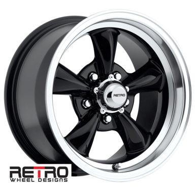 X B Retro Wheel Designs Black Wheels Rims X Ford Lug Pattern Backspace