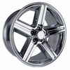"20x8"" Chrome Chevy Iroc Z Replica Wheels Rims 5x4.75"" for Camaro 1967-1992"