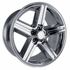 "Chevy Iroc Z Style Replica Chrome Wheels Rims 5x4.75"" for other GM vehicles"