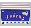 Handpainted Toy Chest - Newport