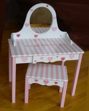 GIRLS HANDPAINTED VANITIES