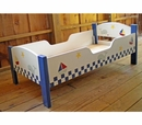 Hand Painted Toddler Bed - Seaside