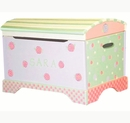 Hand Painted Toy Chest - Gypsy Rose