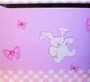 Hand Painted Toy Box - Butterfly Blush