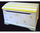 Handpainted Toy Chest - Buttercup