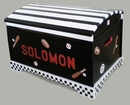 Sports Toy Chest Custom Painted - Choice of Colors
