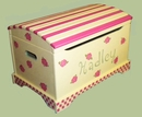 Handpainted Toy Chest - Petit Choux