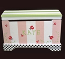 Personalized Toy Chest - Hand Painted - Any Design