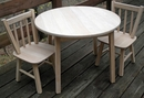 NEW for 2017!    Round Tot's Table and Chairs - Any Design