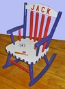 Tots Handpainted Rocking Chair - Any Design