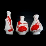 Amy Sillman one lump or three Vases, Limited Edition