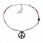 ARENAgal by Ren�e Riccardo Jewelry - Peace Sign