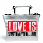 Barbara Kruger LOVE IS Tote