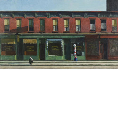 Edward Hopper<i> Early Sunday Morning</i>, 1930 print