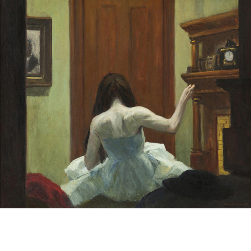 Edward Hopper <i>NY Interior</i>, ca. 1921 print