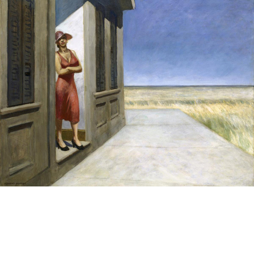 Edward Hopper<i> South Carolina Morning</i>, 1955 print