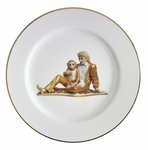 Jeff Koons Banality Series Michael Jackson and Bubbles Service Plate