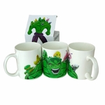 "<FONT COLOR=""GREY"">WHITNEY EXCLUSIVE</FONT> Jeff Koons Hulk Mug"