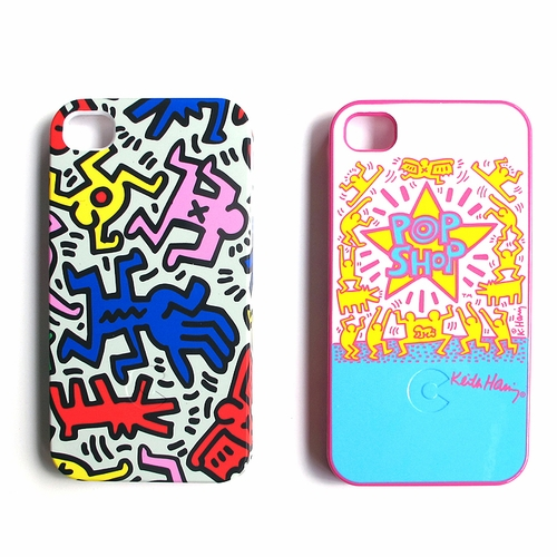Keith Haring iPhone 4 Bezel Cases