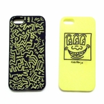 Keith Haring iPhone 5 Silicon Glow Cases