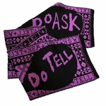 "Lisa Anne Auerbach ""Do Ask, Do Tell"" Scarf"
