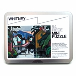 Oscar Bluemner Old Canal Port Mini Jigsaw Puzzle